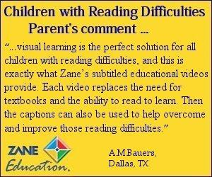educational videos for children with reading difficulties