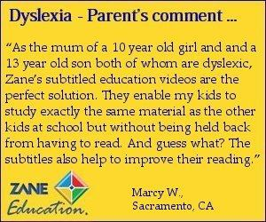 educational videos for dyslexic students