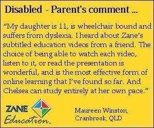 education for disabled students high recommendation by parents teachers and students